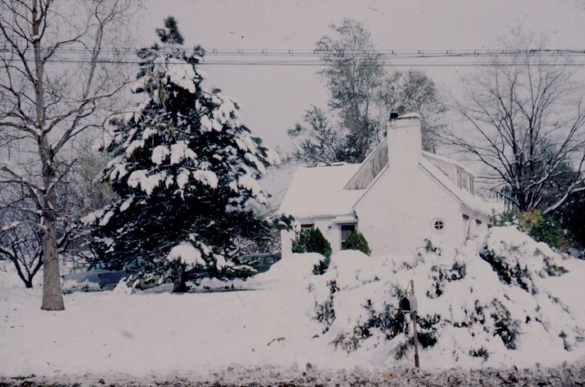 CLYDE GUTKE FAMILY HOME WINTER 1962